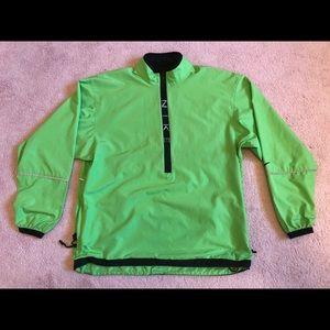 NIKE Green Running Jacket Size M